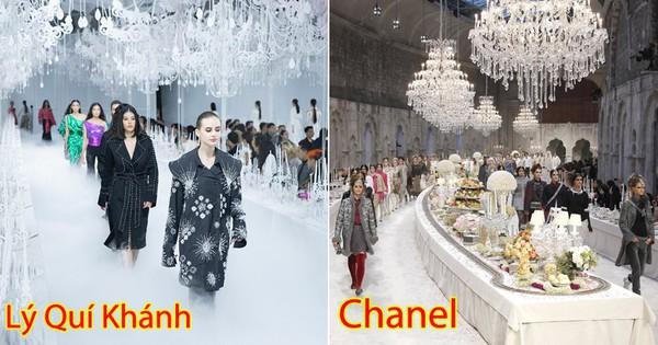 Thưởng lãm show của Lý Quí Khánh lại càng xuýt xoa trước bữa tiệc xa hoa 8 năm trước của Chanel