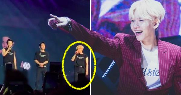 Danh hiệu ''thánh spoil của Kpop'' chắc chắn thuộc về Baekhyun: Hết ''lỡ miệng'' hát ca khúc mới của EXO đến spoil luôn vũ đạo SuperM