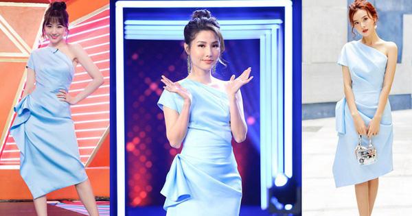 Một mẫu váy mà có đến 5 mỹ nhân Việt cùng diện: Hari Won, Midu liệu có xuất sắc nhất?