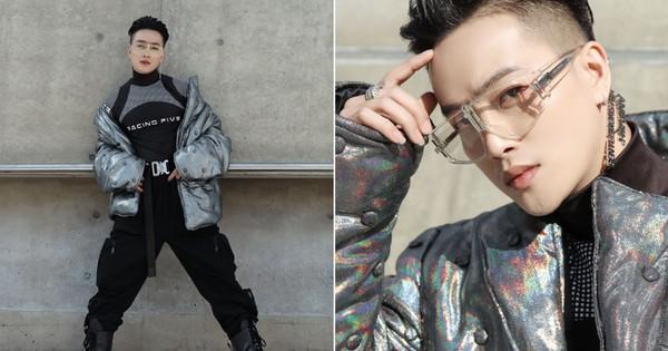 Nhìn thanh niên ''chất chơi'' được vây quanh tại Seoul Fashion Week, có ai nhận ra đây là TiTi (HKT)?