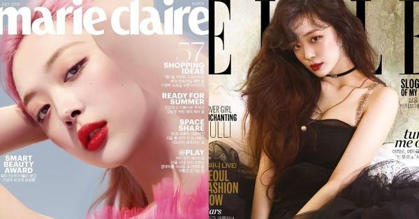 Không còn Sulli, các tạp chí thời trang mất đi một gương mặt ảnh bìa với nhan sắc và thần thái xuất chúng
