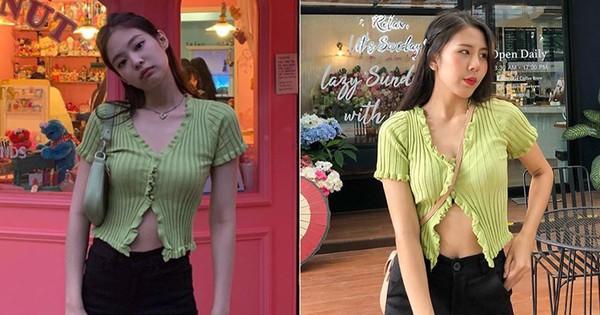 Được Jennie diện từ ''tám đời'' nhưng đến giờ mẫu áo hờ hững vẫn khiến hội hot girl Thái mê mẩn