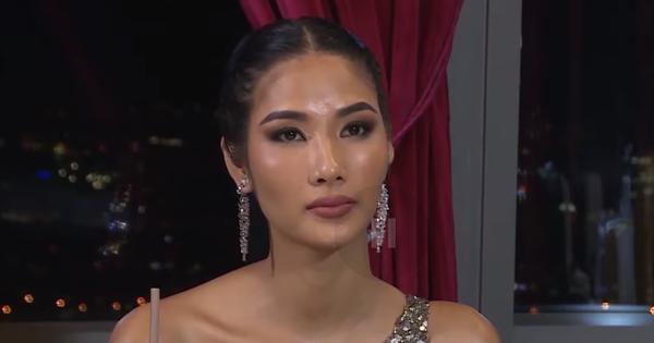 Trở lại ''Hoa hậu Hoàn vũ Việt Nam'', Hoàng Thùy lại dùng ca dao tục ngữ nhưng hình như bị sai?