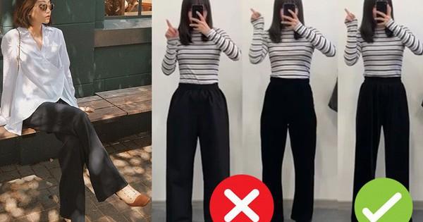 Đại diện các nàng đùi to mặc thử 3 dáng quần dài basic, cô nàng này đã tìm ra loại tôn chân nịnh dáng nhất