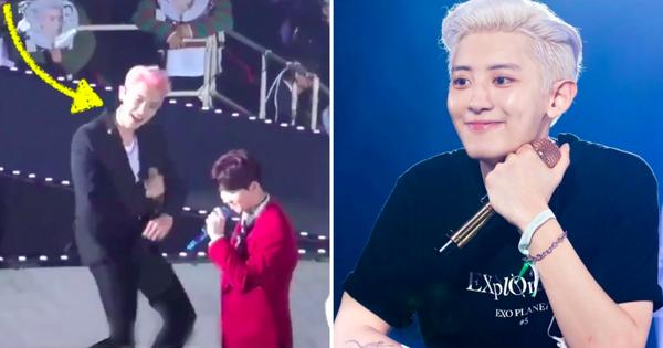 Chanyeol (EXO) khiến fan người cười điên dại, người xách dép bỏ chạy vì điệu nhảy biến tấu cực mạnh từ bài solo của Baekhyun