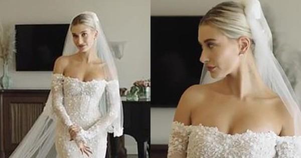Lộ hậu trường hoàn toàn Hailey mặc váy cưới: Nhan sắc, body đỉnh thế này bảo sao Justin nguyện dành cả đời ở bên