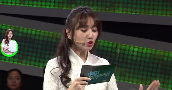 Nhanh như chớp: Hari Won lại bị chê bai về cách đọc câu hỏi, khiến Trường Giang phải sửa lỗi chính tả