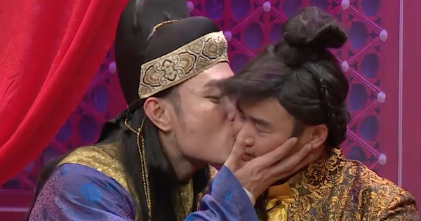 Lê Dương Bảo Lâm không ngại hôn ''bạn trai'', một lần nữa giành cúp ''Ơn giời''