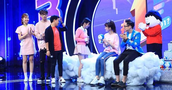 """Trường Giang phấn khích trước """"bầu trời Doraemon"""" trong màn trình diễn của """"thánh nữ Kimochi"""""""