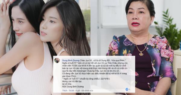 Jun Vũ vừa đăng hình lên Facebook đã bị NSX Dung Bình Dương ''đòi nợ'' quyền lợi, phim sắp chiếu là sẽ có ''phốt''?