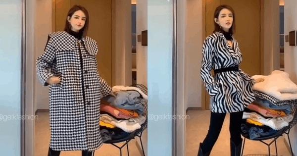 Để ''chặt đẹp'' mọi kiểu áo khoác trên đời, bạn chỉ việc mặc bên trong một cây đồ màu đen