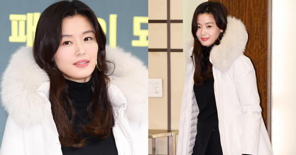 Đỉnh như ''mợ chảnh'' Jeon Ji Hyun dự sự kiện: U40, mẹ 2 con và còn lộ nọng cằm mà vẫn đẹp bất chấp