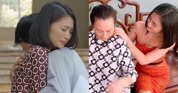 Lộ ảnh San (Hoa Hồng Trên Ngực Trái) ''chị chị em em'' với cựu mẹ chồng: Ô hay thế là lại tái hợp với Dũng à?