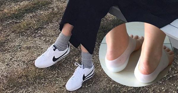 Học idol Hàn dùng thử tất độn chiều cao cho chân dài thêm 3-4cm ngay cả khi đi sneaker