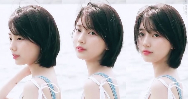 Đến tận bây giờ, netizen Hàn vẫn rất mê kiểu tóc ngắn của Suzy và tha thiết mong cô diện lại