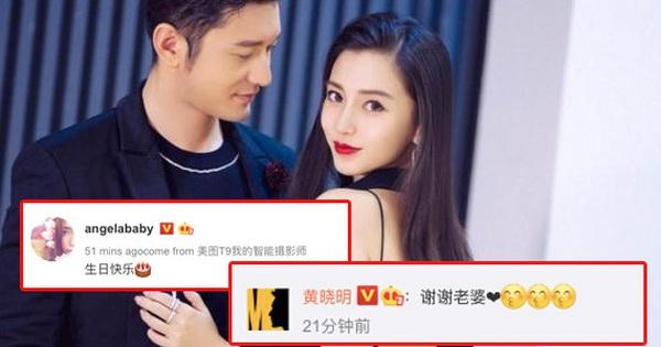 NÓNG: Lần đầu tiên sau 1 năm Angela Baby đăng Weibo...