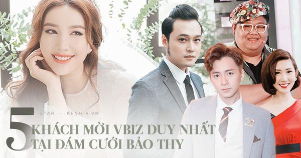 Lộ diện ''full'' bộ 5 nghệ sĩ khách mời tại đám cưới Bảo Thy: Ngô Kiến Huy, Thúy Ngân và dàn sao cực thân từ mới vào nghề