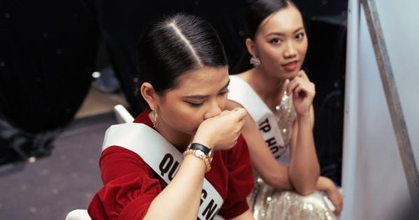 Không dám khóc vì sợ ''về nhà đi con'', nữ thí sinh vẫn bị loại tại ''Hoa hậu Hoàn vũ VN''