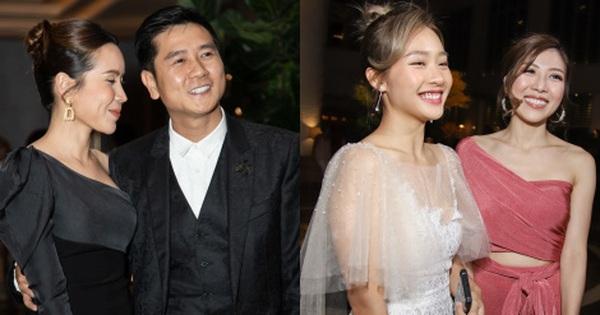 Hồ Hoài Anh - Lưu Hương Giang sánh đôi cực tình, cùng dàn sao đình đám Vbiz đổ bộ đám cưới Giang Hồng Ngọc