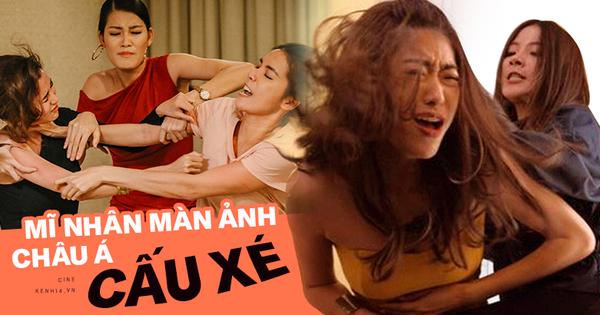 3 màn cấu xé tơi tả của hội mĩ nhân màn ảnh châu Á: Hoa hậu Minh Tú chưa hăng máu bằng cô nàng chuyển giới Nira