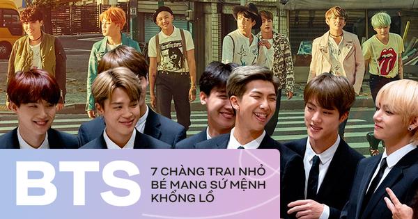 7 chàng trai mang sứ mệnh đặc biệt và bài toán bí mật đằng sau câu hỏi: Tại sao hàng triệu người cứ điên cuồng vì BTS?