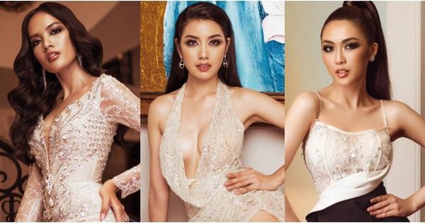 Top 45 Hoa hậu Hoàn vũ Việt Nam lộ diện: Thúy Vân khoe ngực đầy, đọ sắc ''cực gắt'' bên dàn mỹ nhân váy xẻ táo bạo