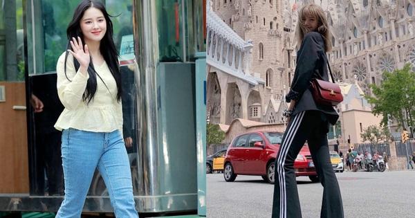 """Sao Hàn diện quần ống loe: Người khoe trọn chân thon, người tự mình """"phá dáng"""""""