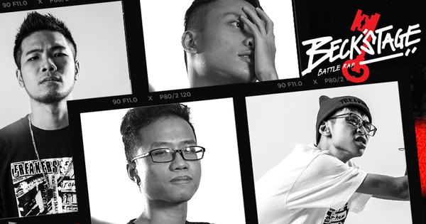 Phúc Du, RisM, Đại Vũ, Linh Thộn gây ấn tượng vì điều gì mà ''thống trị'' hạng mục No Beat tại Beck''Stage?