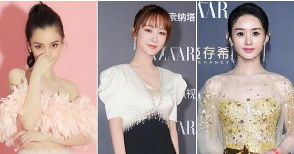 Khó tin: Dương Tử vượt qua Triệu Lệ Dĩnh trong cuộc đua ''Sao nữ mặc đẹp'', Angela Baby mất hút khó hiểu