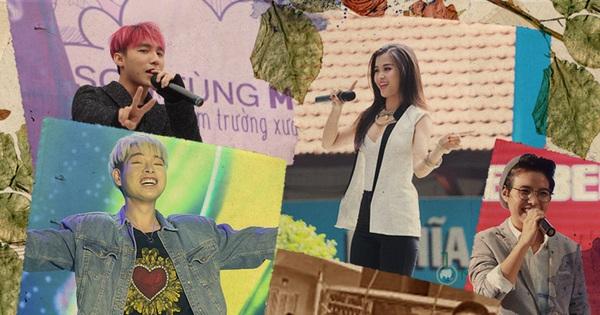 Sơn Tùng ''sợ hãi rối bời'', Đức Phúc ''troll'' cả thầy cô còn Noo Phước Thịnh diễn nhiệt như mở minishow khi hát tại trường cũ!