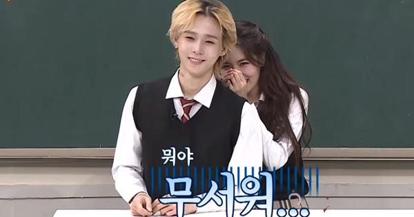 Nổi tiếng với hình tượng sexy, Hyuna bỗng trở nên e ấp khi giới thiệu bạn trai trên show thực tế