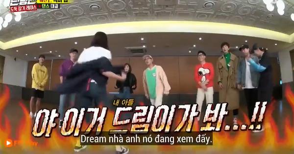 """Jeon So Min nhảy sexy trên nền nhạc thiếu nhi khiến Haha ngăn cản: """"Con trai anh đang xem đấy!"""""""