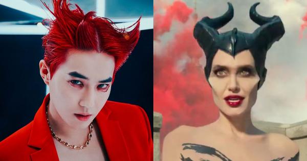 Chơi trội hơn cả Chanyeol và Baekhyun, Suho mọc sừng hoá... Maleficent, khoe body cuồn cuộn chốt sổ loạt teaser rùng rợn của EXO