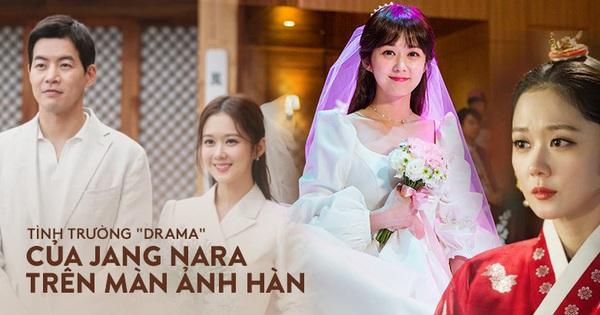 Tình trường màn ảnh của ''gái ế'' Jang Nara: Hoàng hậu bị ''tiểu tam'' cướp chồng gắt sao bằng hôn nhân vì tình một đêm