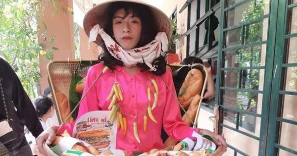 Cosplay chiếc đầm bánh mỳ nổi tiếng của H''Hen Niê, nam sinh gây bão vì thần thái không kém gì Hoa hậu