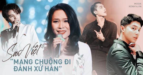 Những lần sao Việt ''mang chuông đi đánh xứ Hàn'': Mỹ Tâm làm hẳn riêng concert, Noo diễn trước các nguyên thủ, Sơn Tùng tổ chức cùng địa điểm của BTS