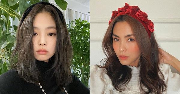 """Từ Jennie, Jessica đến Hà Tăng đều đang diện bờm nhung, đây chính là món phụ kiện """"chanh sả"""" bạn cần sắm nhất Đông này"""