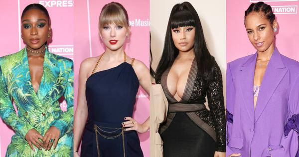 Thảm hồng Billboard: Taylor Swift bị Nicki Minaj ''xôi thịt'' lấn át, Billie Eilish style quá lạ bên dàn sao nữ quyền lực