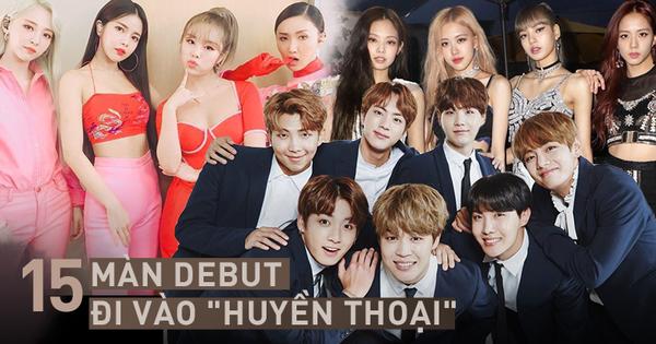 15 màn debut xứng đáng đi vào ''huyền thoại'' của Kpop: Quá nửa đến từ Big 3, toàn những ca khúc, vũ đạo thuộc dạng ''bất hủ''