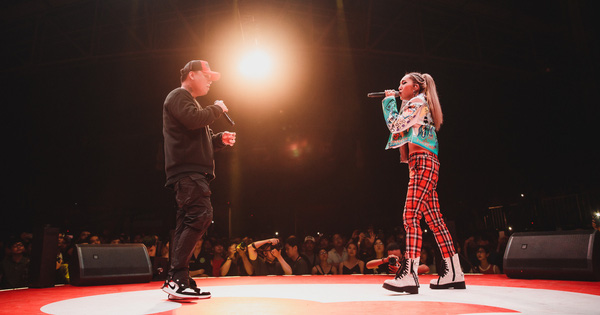 Vỡ oà với sân khấu hội ngộ của ''huyền thoại'' nhạc rap LK và ''công chúa của Lady Killer'' Emily tại Beck'Stage Unexpected Rap Fest