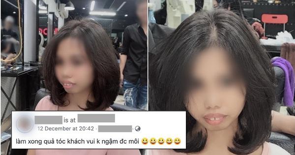 Chủ salon tóc tự ý đăng ảnh cô gái kèm chú thích cợt nhả, dân mạng sôi sục chỉ trích: Giũa lại cái nết đi!