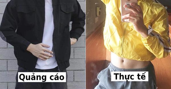 """Nam thanh niên """"giận bay màu"""" vì đặt mua áo khoác diện Tết lại nhận ngay chiếc khác màu, mặc cộc cỡn như croptop"""