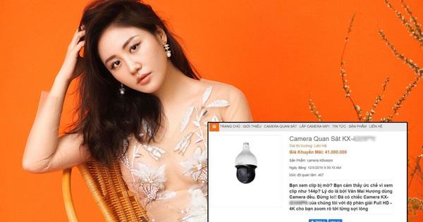 """Lợi dụng sự cố của Văn Mai Hương, xuất hiện shop camera quảng cáo vô duyên gây phẫn nộ: """"Bạn xem clip bị mờ? Lý do là bởi VMH dùng camera đểu"""""""