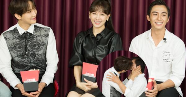 Hari Won điếng người, đỏ mặt nhìn ''Oppa'' Park Jung Min khóa môi Lãnh Thanh