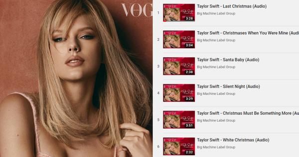 Chả mấy khi Taylor Swift ra nhạc Giáng Sinh, Big Machine lập tức có hành động ''dội gáo nước lạnh'' nối dài drama