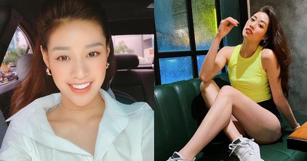 """Tân Hoa hậu Hoàn vũ Việt Nam Khánh Vân: Chuyên makeup """"sương sương"""" nhưng style ăn mặc lại cá tính hết nấc"""