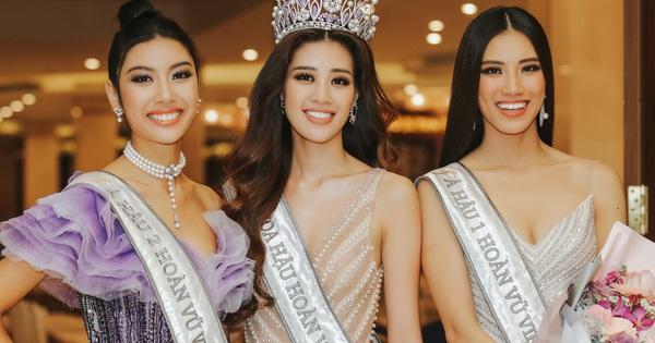 Cận cảnh nhan sắc Top 3 Hoa hậu Hoàn vũ Việt Nam 2019: Khánh Vân tỏa sáng với gương mặt thánh thiện, 2 nàng Á hậu đáng gờm