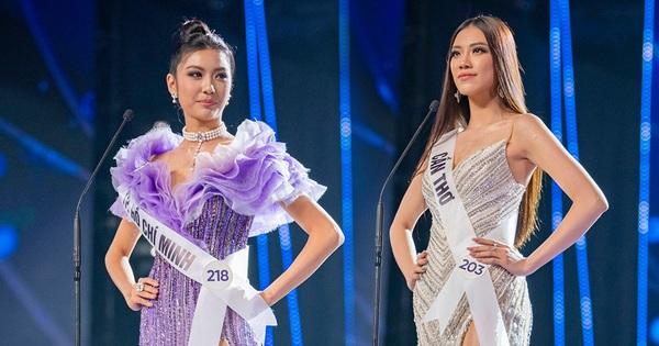 """Từng bị Thúy Vân """"vượt mặt"""" cách đây 5 năm, Kim Duyên đã """"phục thù"""" thành công tại """"Hoa hậu Hoàn vũ VN"""""""