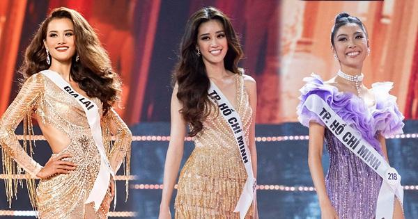 """Cứ ngỡ """"Hoa hậu Hoàn vũ VN"""" là cuộc chiến của Thúy Vân - Hương Ly - Hoàng Phương, ai dè """"trùm cuối"""" gọi tên Khánh Vân!"""