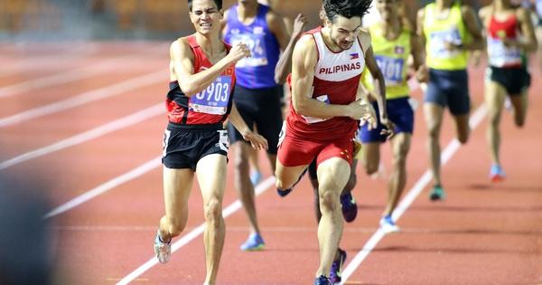 Dương Văn Thái đã giành HCV 800m nam, SEA Games 2019, theo một...
